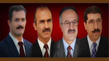 صالح تهرانی، محمود برنافر، عباس نامور و یحیی زیارتی