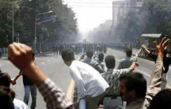 تظاهرات عظيم مردم تهران در 30 خرداد سال 1360