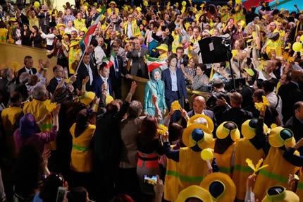 المؤتمر السنوي العام للمقاومة الإيرانية في باريس