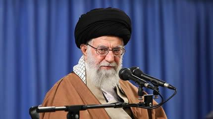 خامنئي: منفذو الانتفاضة في إيران کانوا مجاهدي خلق