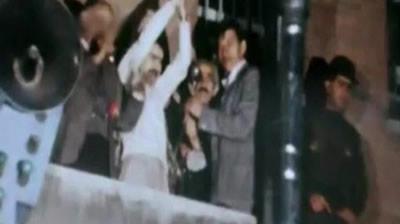 آزادى اولين مسعود رجوي از زندان اوين در سال 1357