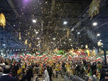 گردهمايى عظيم ايرانيان در ويلپنت پاريس
